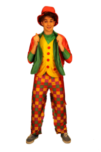 3 clown elegante