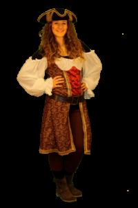 99 piratessa marrone