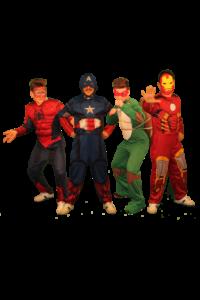 gruppo supereroi1