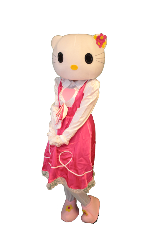 hello kitty mascotte