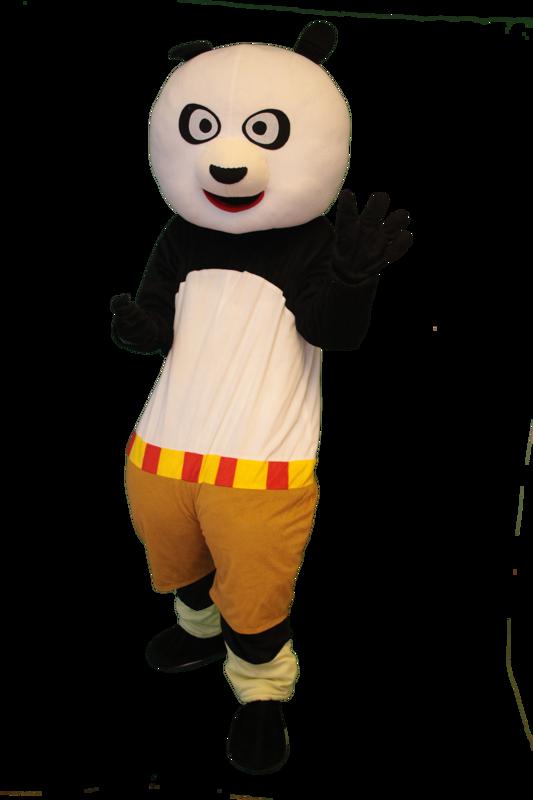 kung fu panda mascotte