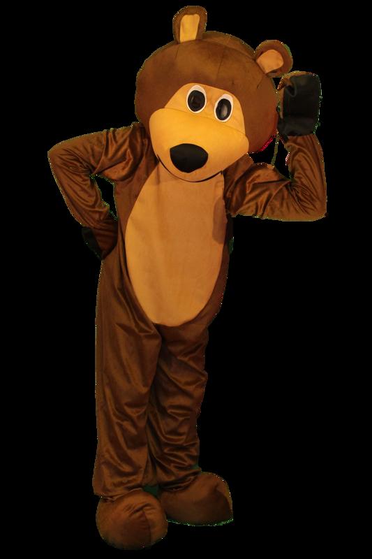 orso mascotte
