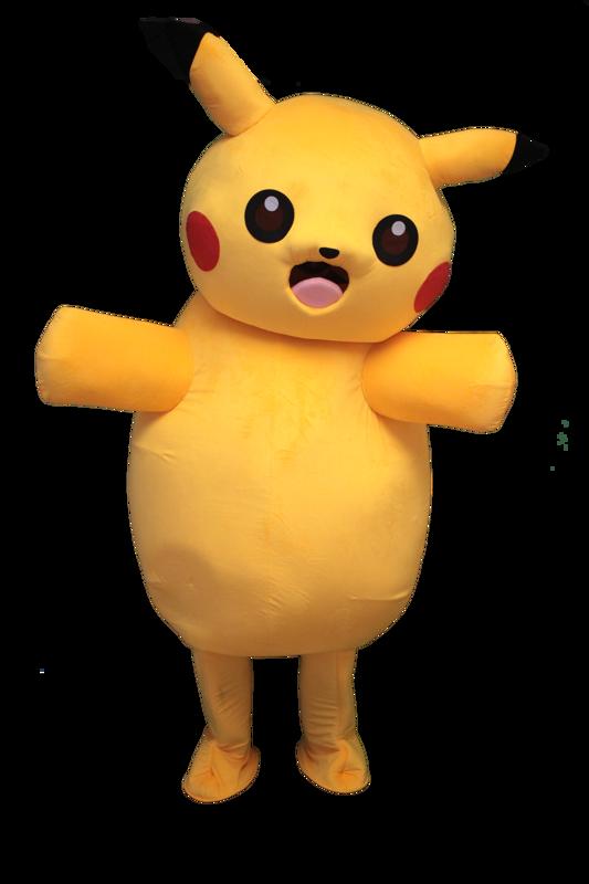 pikachu mascotte