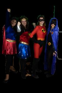 supereroine gruppo