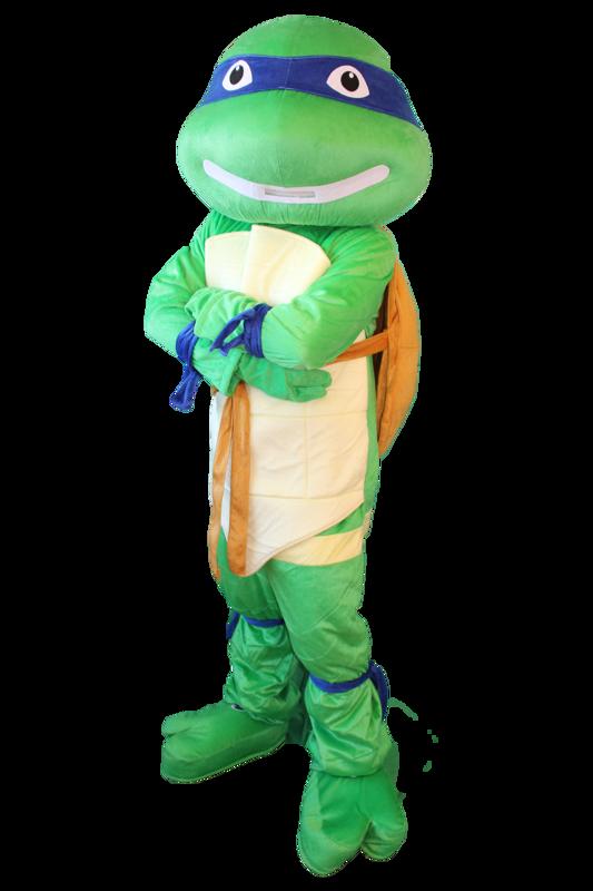 tartaruga ninja mascotte