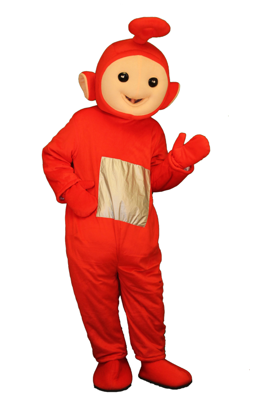 teletubbies mascotte
