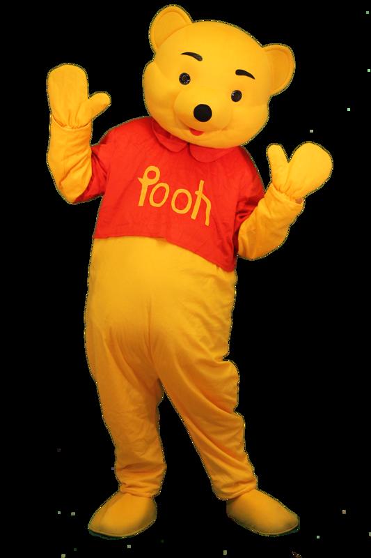 winnie the pooh mascotte